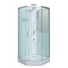 Aquanet Passion P Душевая кабина 90*90*226см, 5ти-угольная, прозрачное стекло
