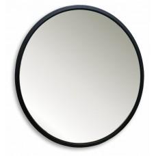 Зеркало Metallica в раме из металлического профиля  диаметр 77 см