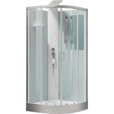 Aquanet Passion R Душевая кабина 90*90*226, полукруглая,  прозрачное стекло