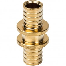 STOUT Муфта соединительная равнопроходная 16 для труб из сшитого полиэтилена аксиальный SFA-0003-000016