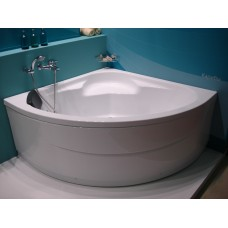 SANTEK Ванна акриловая Карибы 140*140см (панель,каркас)