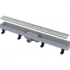 AlcaPlast APZ9-Simple 750 душевой лоток  с решеткой и опорами