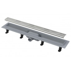 AlcaPlast APZ8-Simple 550 душевой лоток с решеткой и опорами
