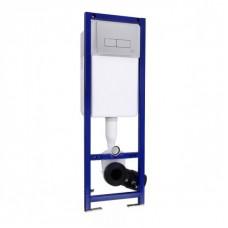 Ideal Standard Инсталляция для унитаза с кнопкой хром W3710AA