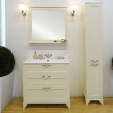 Акватон Комплект мебели Леон 80 (тумба + раковина + зеркало)