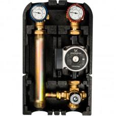 """STOUT Насосная группа с термостатическим смесительным клапаном 1""""с насосом Grundfos UPSO 25-65 SDG-0002-002502"""