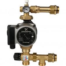 STOUT Насосно-смесительный узел с термостатическим клапаном 20-43°C, с насосом SDG-0020-004001