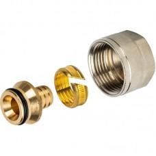 "STOUT Фитинг компрессионный 16х2,0x1/2"" для труб из сшитого полиэтилена SFC-0024-001620"