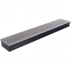 STOUT Конвектор внутрипольный SCN 80.190.800 (Решётка роликовая, анодированный алюминий) SCN-1100-0819080