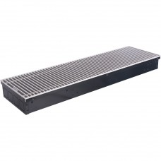 STOUT Конвектор внутрипольный SCN 80.240.800 (Решётка роликовая, анодированный алюминий) SCN-1100-0824080