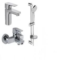 IS Комплект  Set CERAPLAN III (Смеситель д/умыв. +  см-ль д/ванны +  душ. гарнитур)